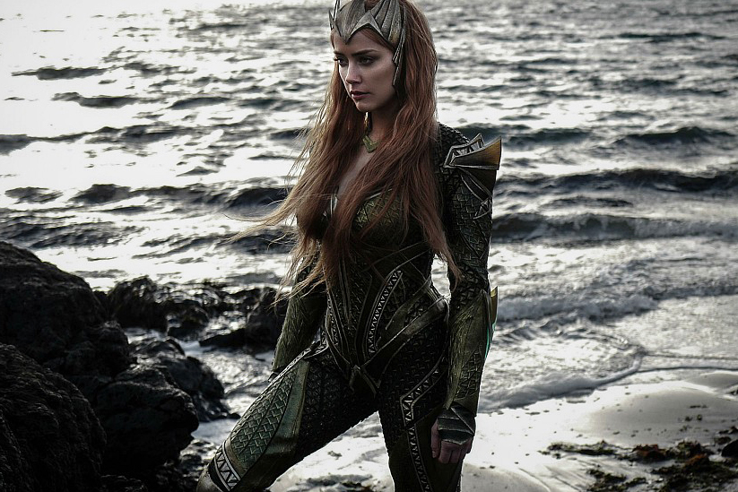 Here's Your First Look at Amber Heard as Mera in 'Justice League'