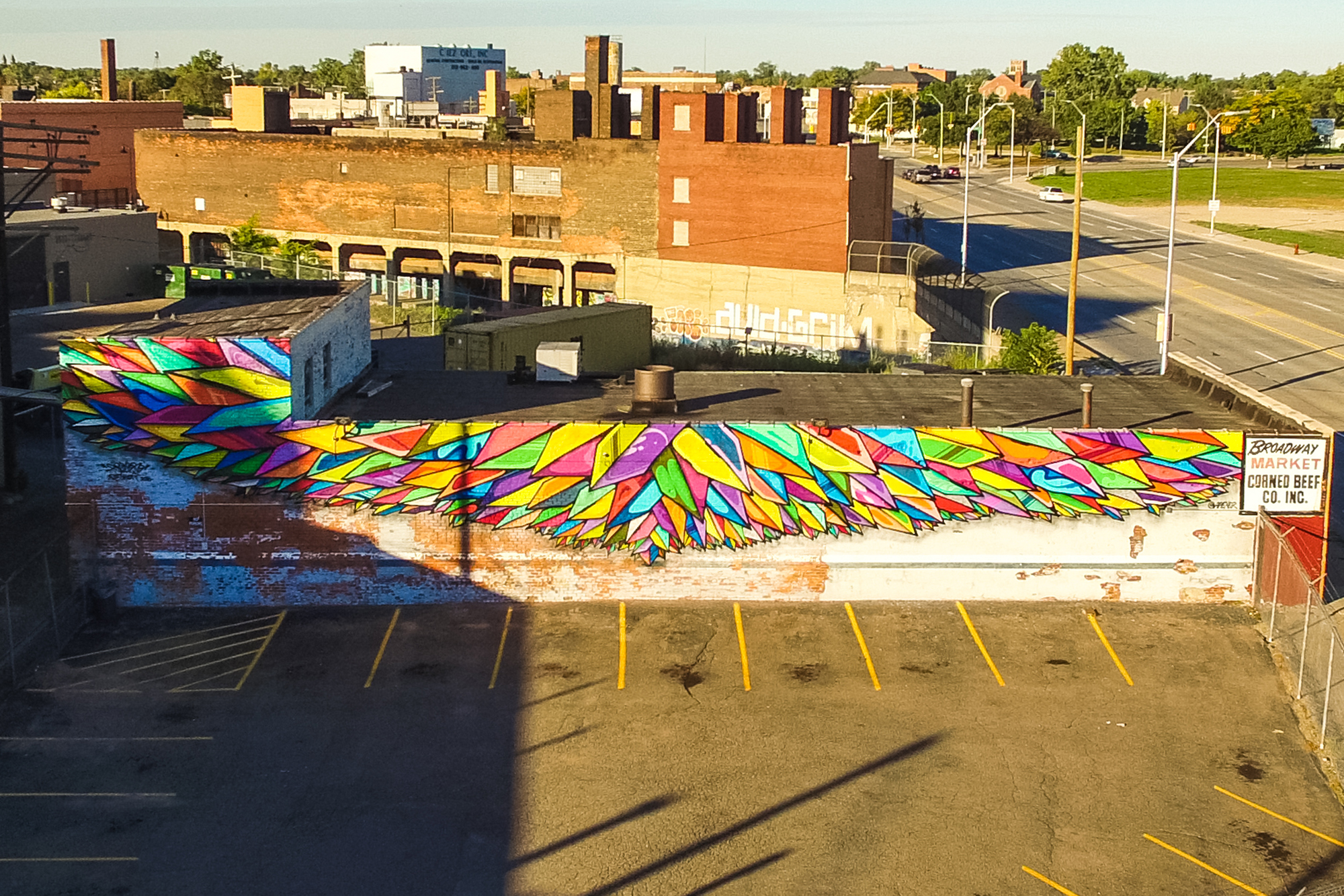 Detroit Mural in the Market 2016 - 1761401