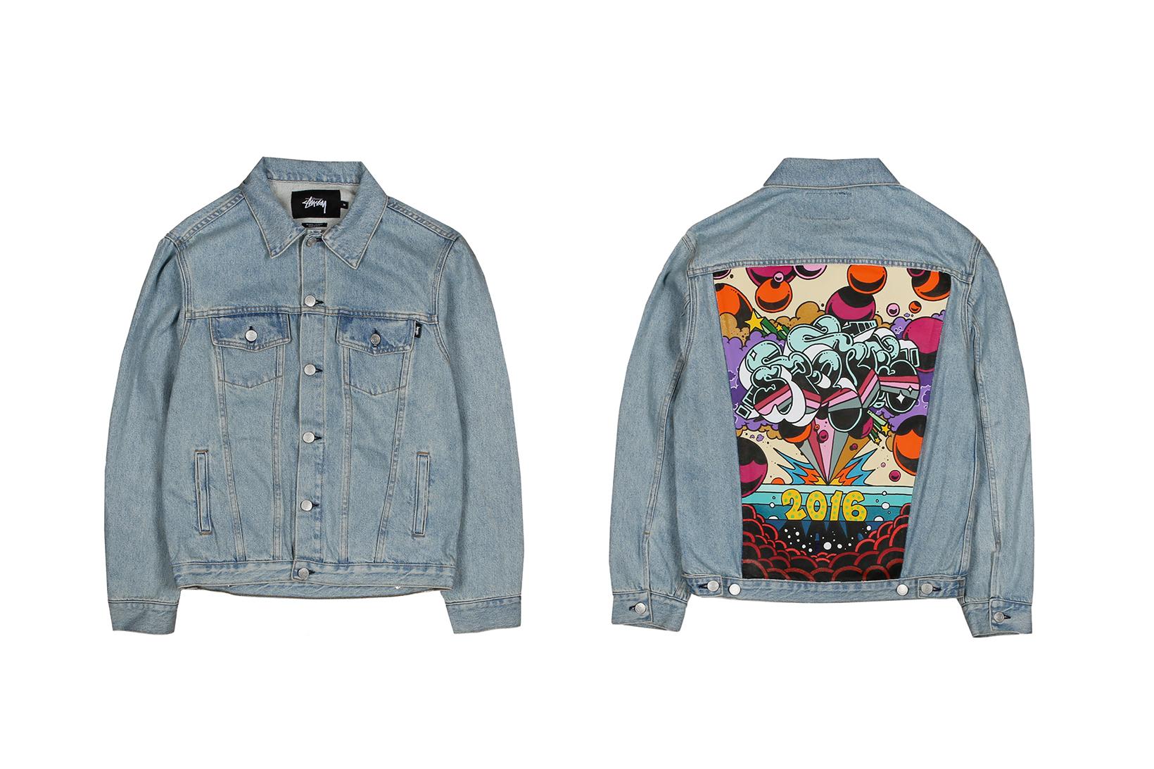 Artists Let Loose on Custom Denim Jackets to Celebrate 10 Years of Bodega
