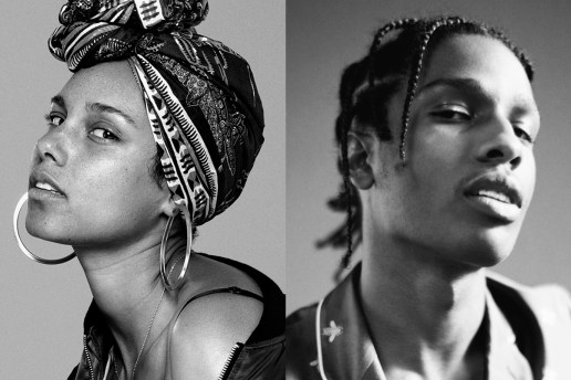 "A$AP Rocky Links up With Alicia Keys for New Song, ""Blended Family"""