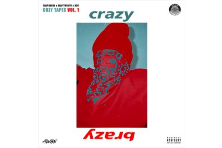 """A$AP Rocky Drops New Song """"Crazy Brazy"""""""