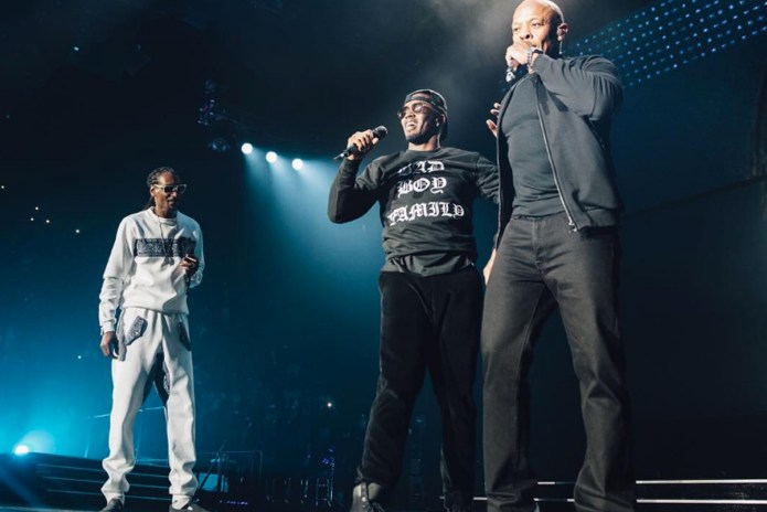 A$AP Rocky, Dr. Dre, Nas, Snoop Dogg & More Join Puff Daddy on Stage