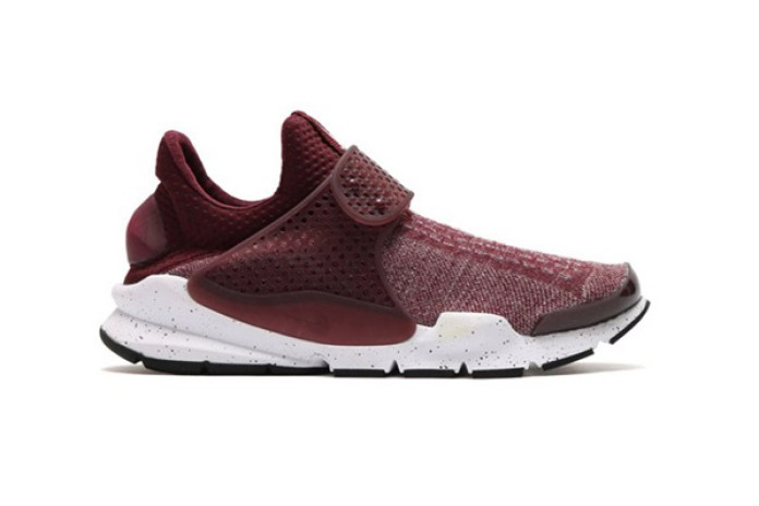 "atmos Releases an Exclusive Nike Sock Dart in ""Burgundy"""