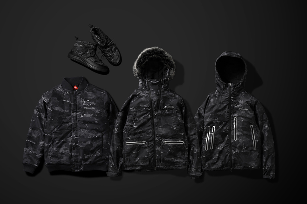 """Brave the Elements With atmos Lab x Columbia's """"Coal Camo"""" Collection"""