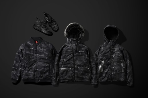 "Brave the Elements With atmos Lab x Columbia's ""Coal Camo"" Collection"