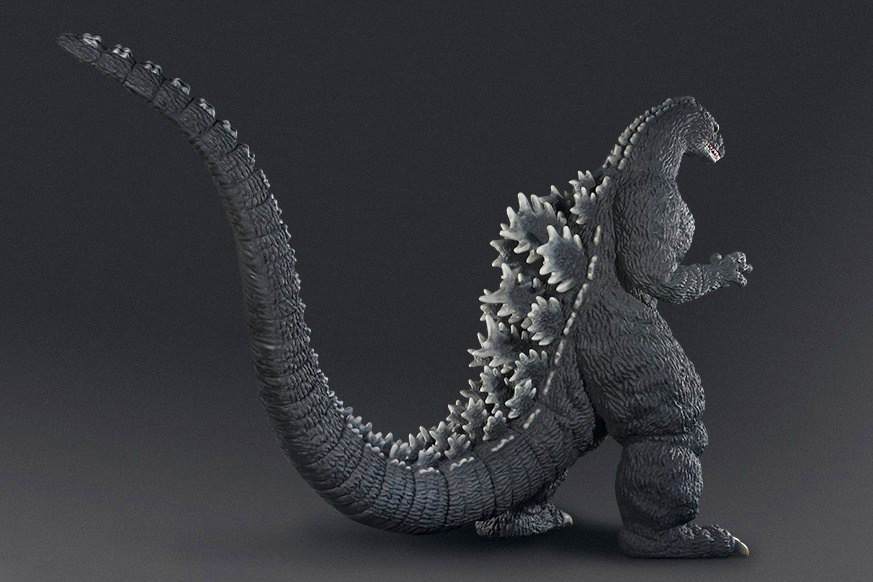 Bandai Is Releasing a 3D-Printed Man-Sized Godzilla Model