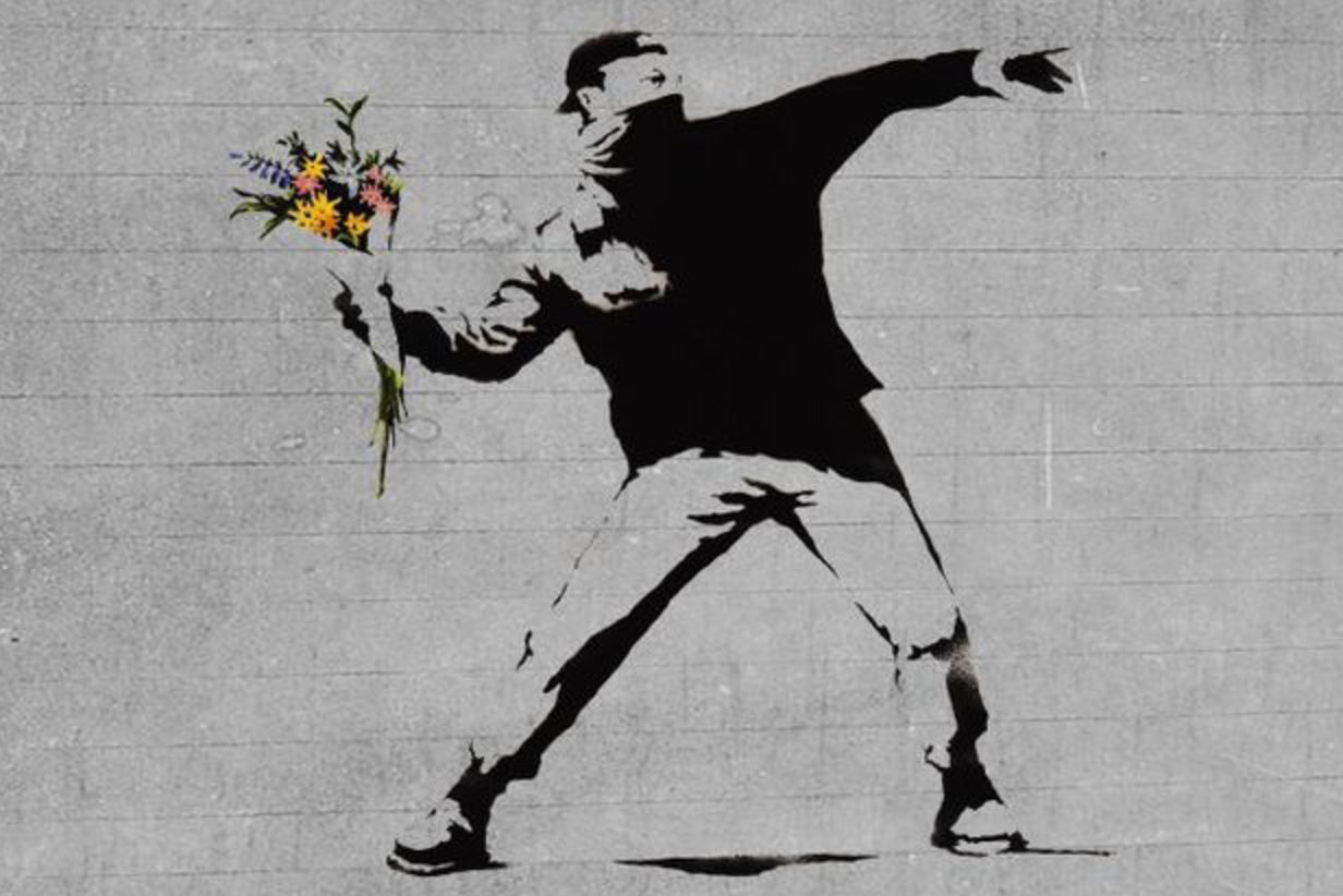 Banksy Permanent Exhibition Space in London Art Drawings Bunker Show Graffiti