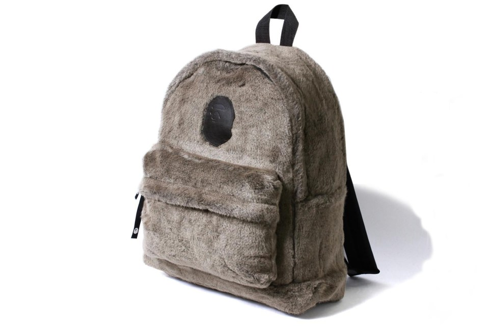 Bape Fur Backpack Hypebeast
