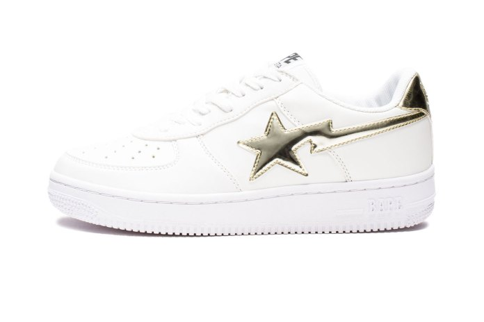 BAPE Applies Metallic Accents to the BAPE STA