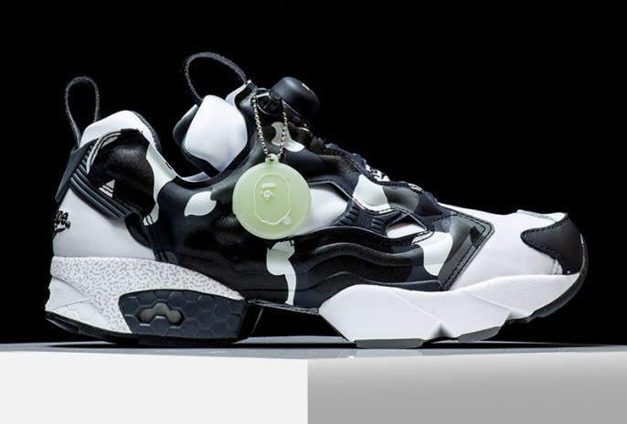 A Closer Look at the BAPE x mita x Reebok Insta Pump Fury Which Dropped Today