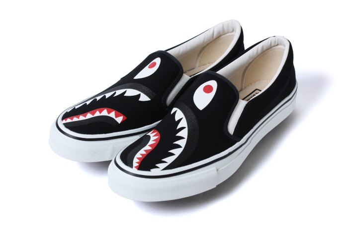 BAPE Releases a Ferocious New Line of Shark-Inspired Footwear