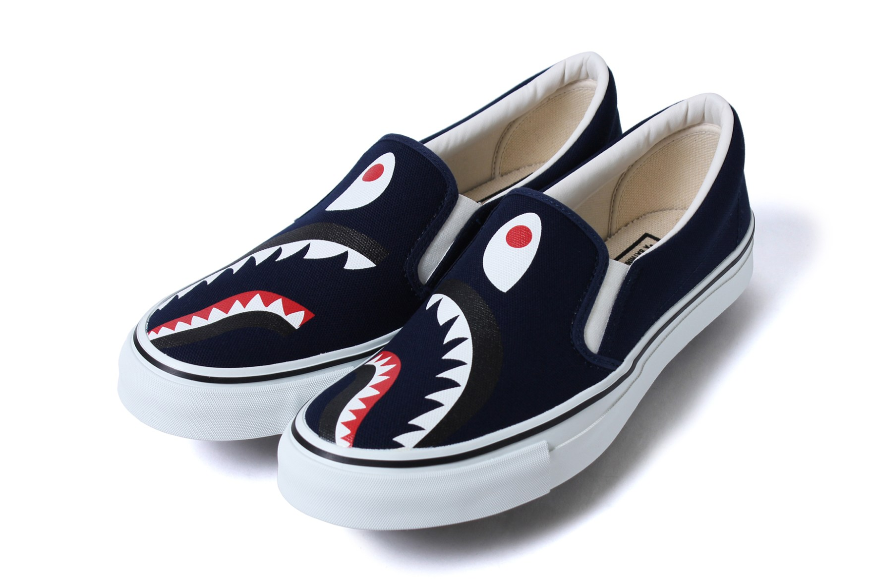 Slip On Bape Shoes