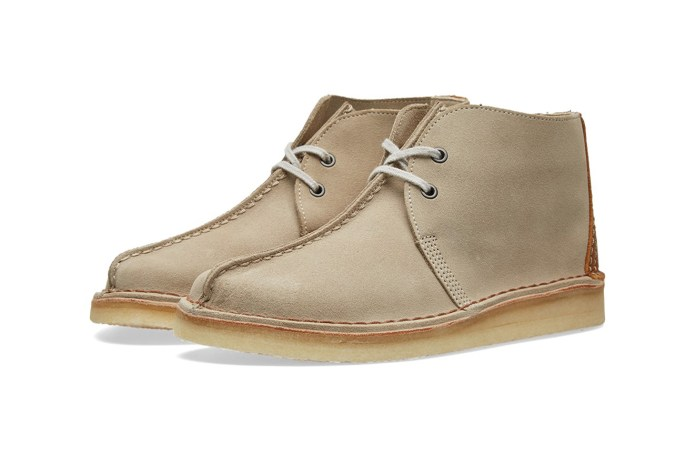 BEAMS Joins Forces With Clarks Originals for Two Clean Takes on the Desert Trek Hi