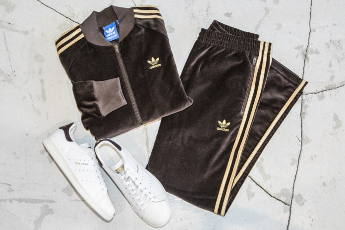 adidas Taps BEAUTY & YOUTH for a Limited-Edition Velour Tracksuit