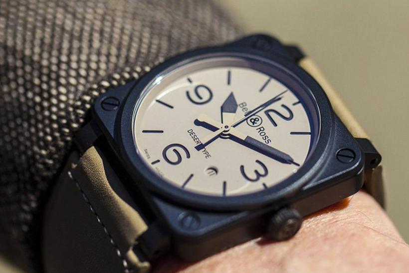 The Bell & Ross Desert Series Could Probably Survive a Nuclear Apocalypse