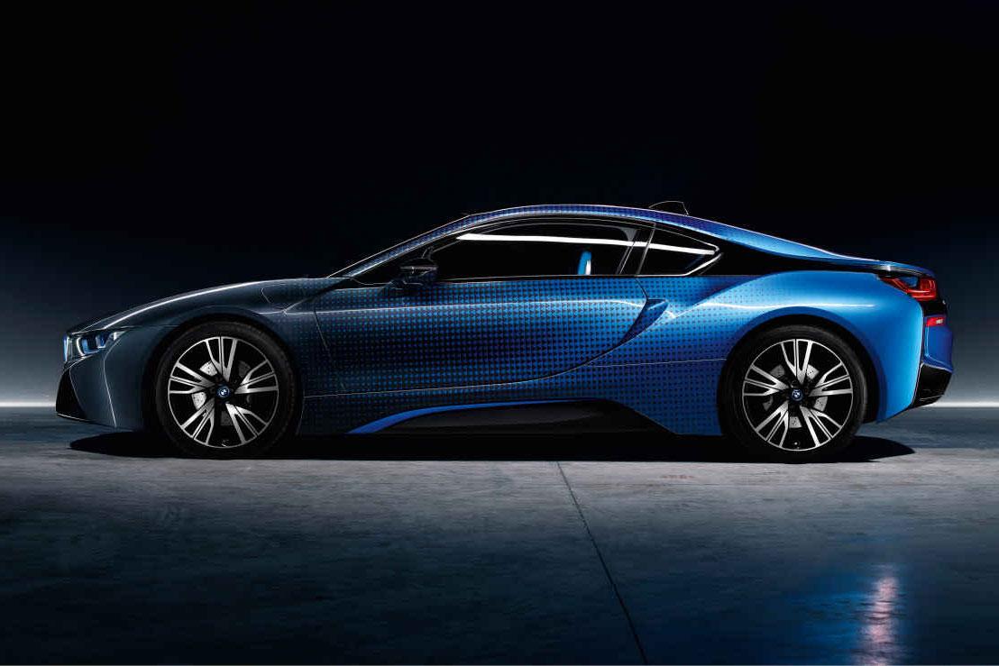 BMW and Garage Italia Customs Unveil CrossFade Paint Concept
