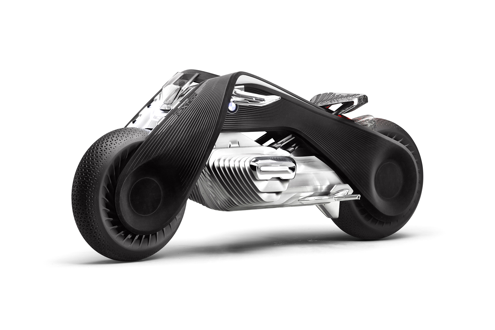 BMW's Motorrad Vision Next 100 Concept Is a Flexible, Self-Balancing Motorcyle