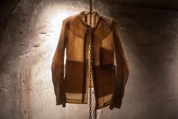 Boris Bidjan Saberi's Project 3,14 Installation Featured the Designer's Transparent Leather Jackets