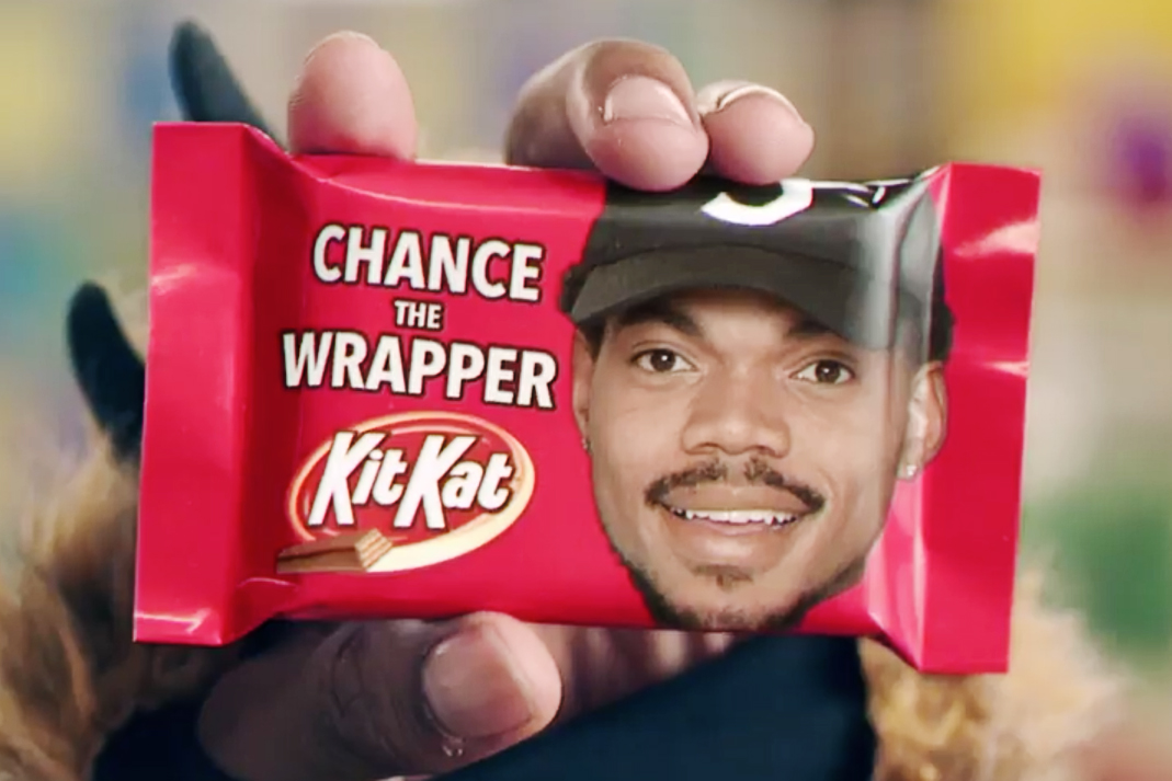 Take a Look at Chance the Rapper's Official Kit Kat Commercial