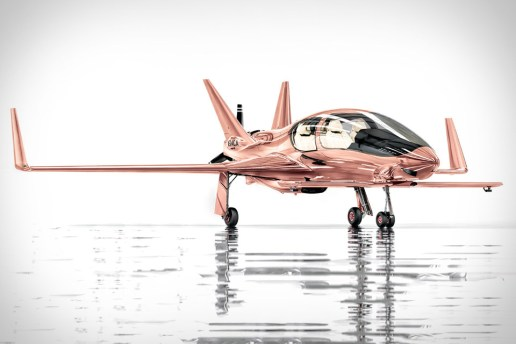 Have $1.5 Million USD? This Rose Gold Private Plane Makes an Excellent Gift According to Neiman Marcus
