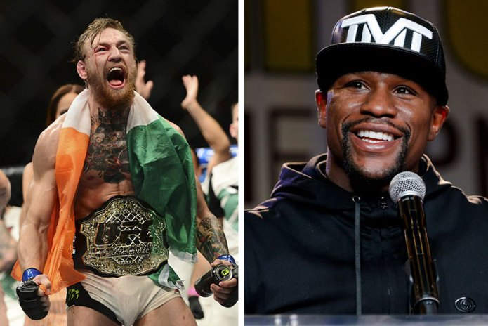 Conor McGregor Calls out Floyd Mayweather Jr. About Potential Bout
