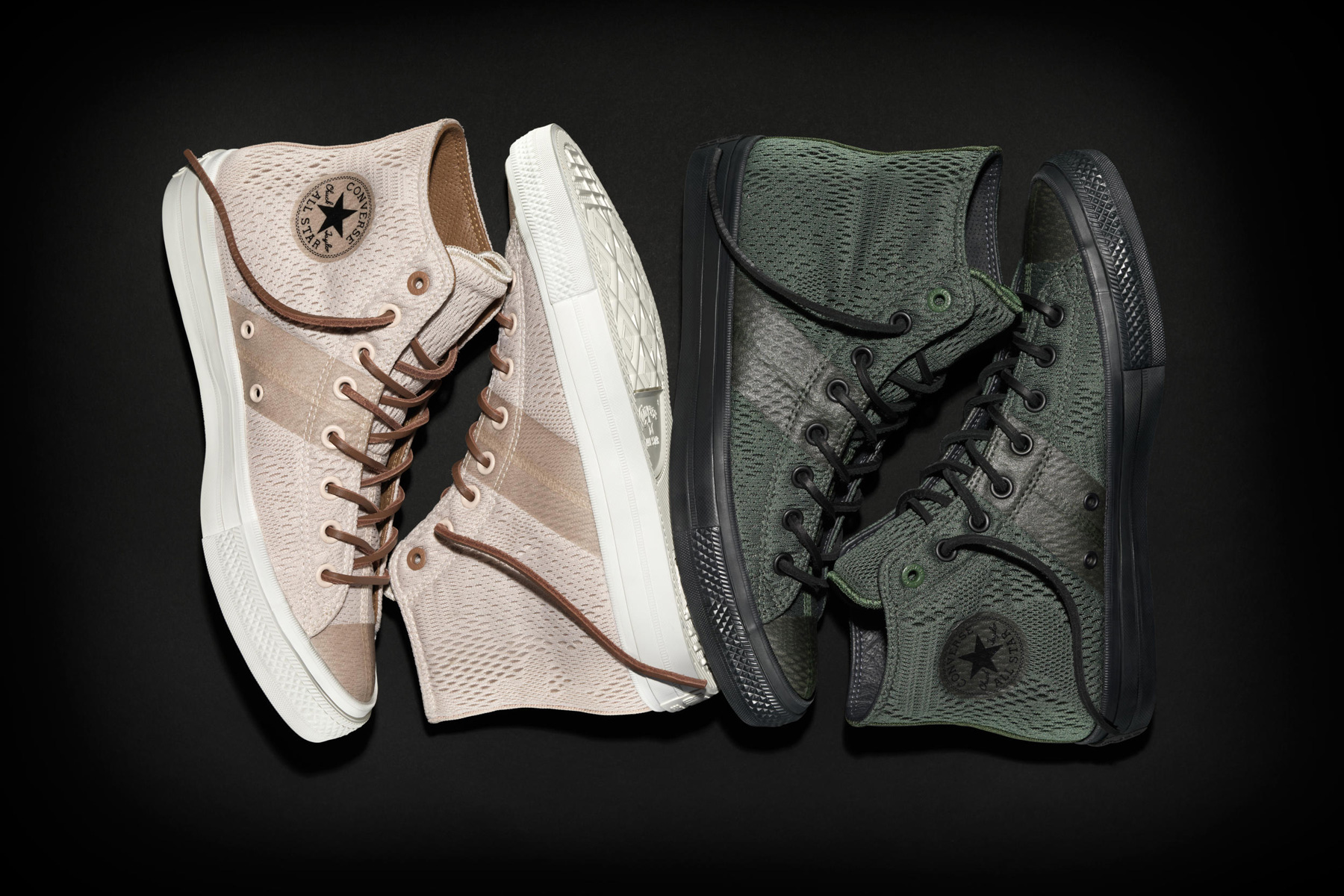 Converse Wraps the Chuck Taylor II in Engineered Mesh