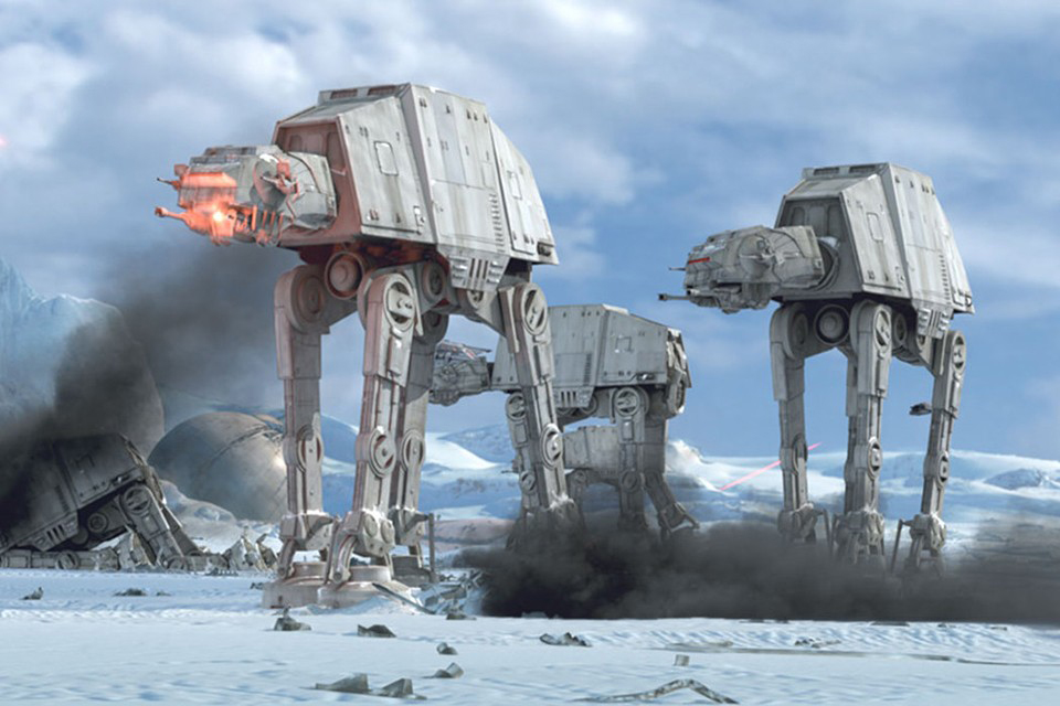 Here's How Much It Would Cost to Build a Real 'Star Wars' AT-AT Walker
