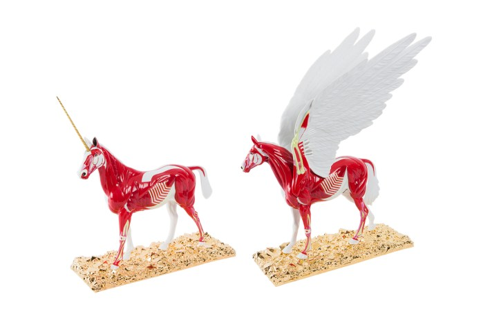 Damien Hirst Released Miniaturized Versions of His 'Myth' & 'Legend' Sculptures