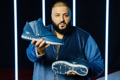 "DJ Khaled and Marcus Jordan Officially Reveal the Air Jordan 16 ""French Blue"""