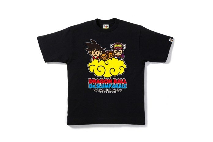 BAPE Will Release a Special Capsule Featuring 'Dragon Ball' & 'Dr. Slump' Graphics