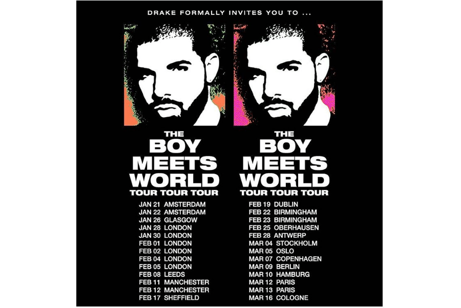 Drake Announces New Tour - 1766274