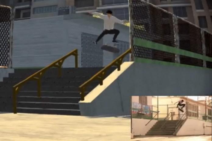 Dylan Rieder's 2010 Gravis Part Gets Remade in 'Skate 3'