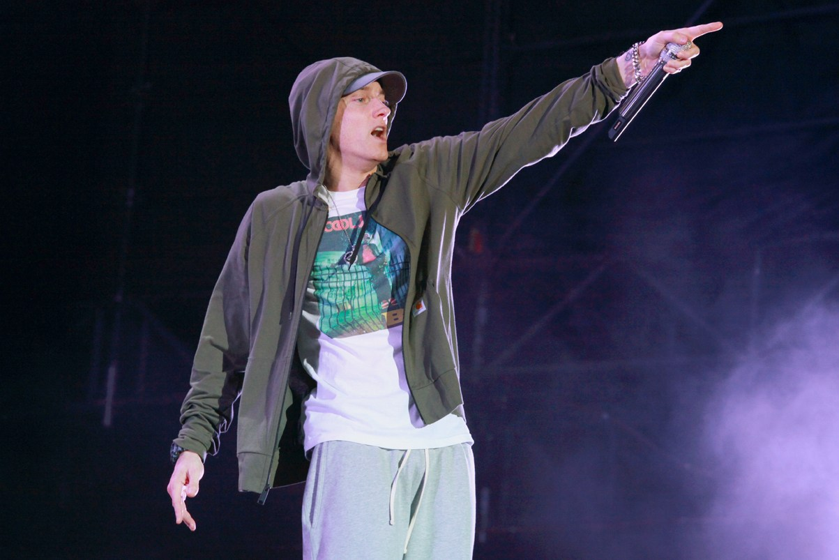 "Eminem Announces New Album, Shares ""Campaign Speech"""