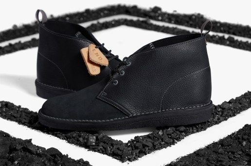 """END. Teams up With Clarks for Limited Edition """"Black Diamond"""" Desert Boot"""