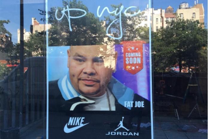 Fat Joe Is Opening a Sneaker Store in NYC