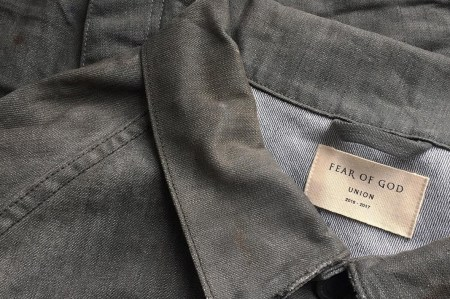 Fear of God and Union Los Angeles Are Set to Release a Capsule of Denim Pieces
