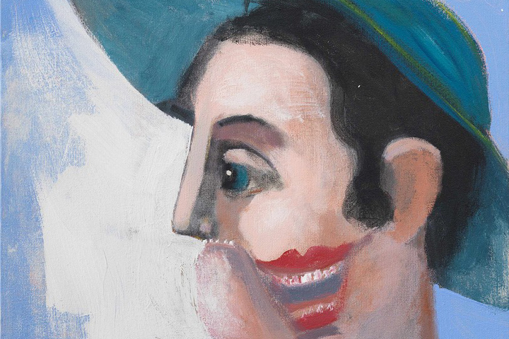 """George Condo's """"Confrontation"""" Show Juxtaposes His Work With Classic Art"""