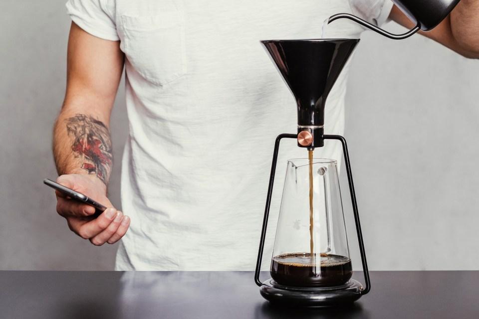 Coffee Maker In Jordan : GINA Smart Coffee Instrument HYPEBEAST