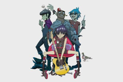 Gorillaz 's Animated Story Continues With 'The Book of 2D'