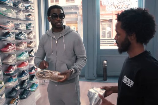 Gucci Mane Goes Sneaker Shopping, Talks His Childhood With Jordans