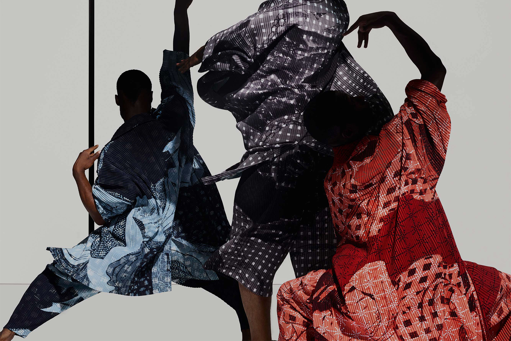 Iconic Japanese Woodblock Prints Grace Homme Plissé Issey Miyake's New Capsule Collection