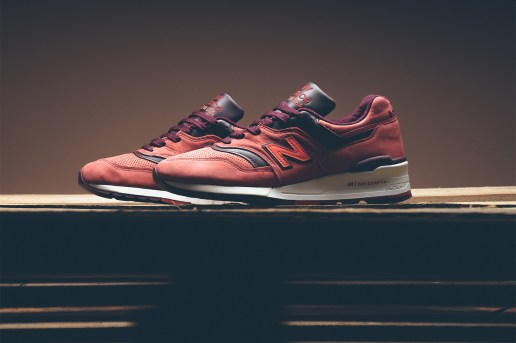 """New Balance Combines Horween Leather & Premium Nubuck on Its """"Red Clay"""" 997"""