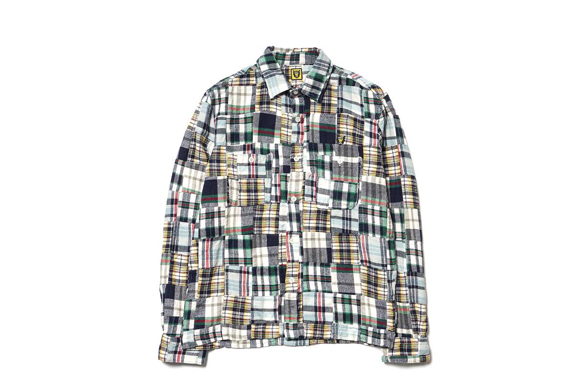 HUMAN MADE Presents a Unique Patchwork Shirt