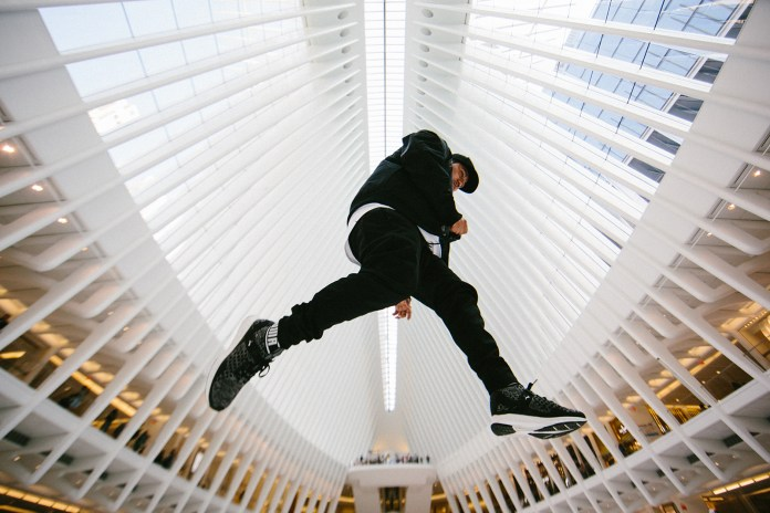 Photographer Insighting Traverses the Expanses of New York City in the PUMA IGNITE evoKNIT