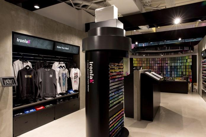 Ironlak Art & Design Opens New Flagship Store in Sydney