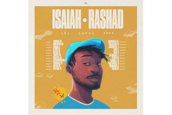 Isaiah Rashad Announces 'Lil Sunny' Tour 2017