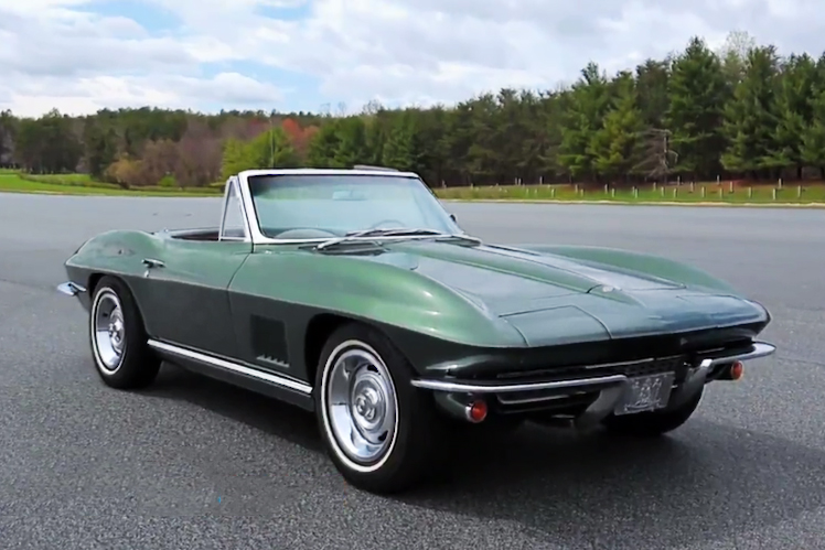 Watch Vice President Joe Biden Do a Mean Burnout in His 1967 Corvette Stingray