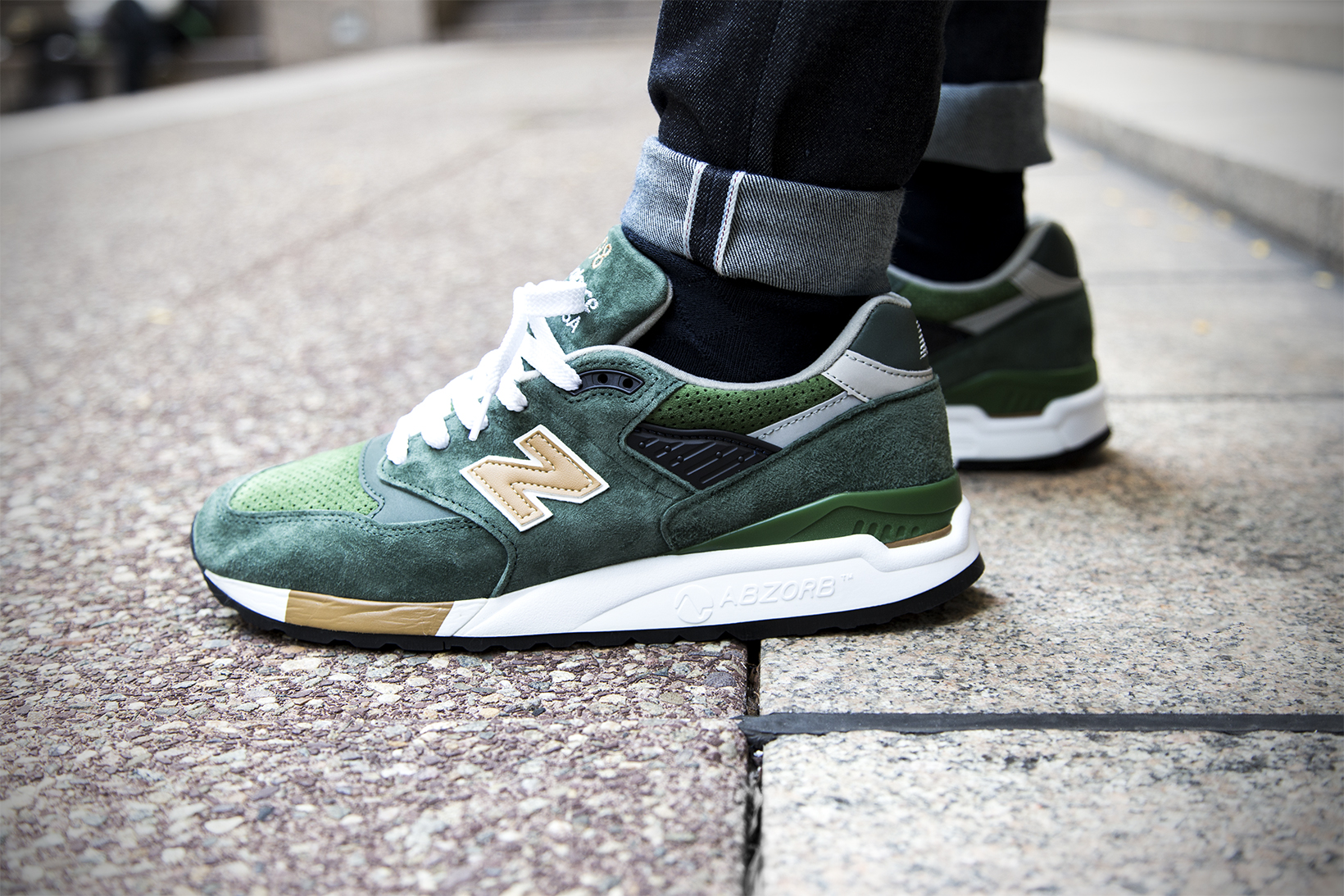 J.Crew's Upcoming New Balance 998 Is the Color of Money
