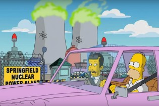 Jimmy Kimmel Gets Whisked off on a Private Tour of Springfield From Homer Simpson