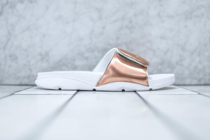 "Jordan Brand Unveils the Hydro ""Pinnacle"" Slide in Metallic Bronze"